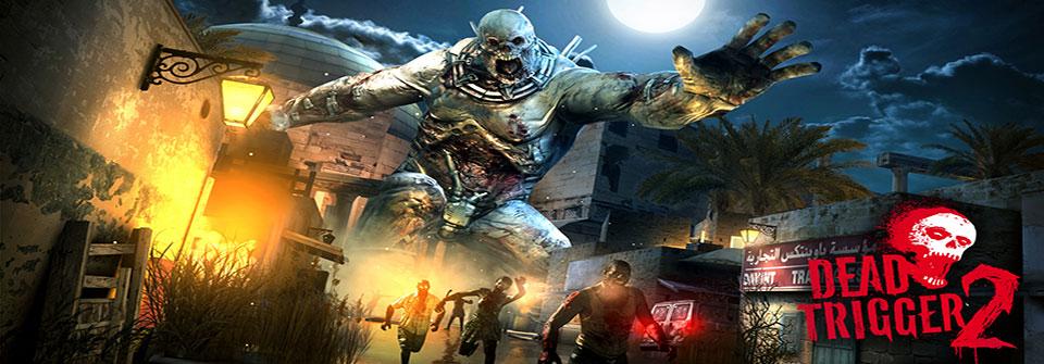 screenshot du jeu android dead trigger 2