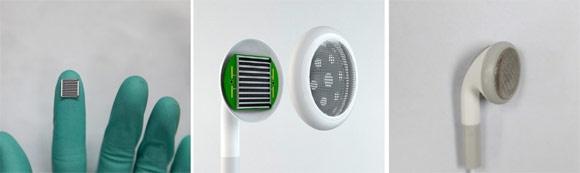écouteurs thermoacoustiques à nanotubes de carbone
