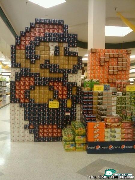 Mario Bros canettes soda