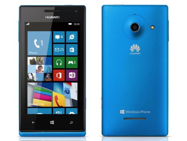 windows phone huawei ascend w1