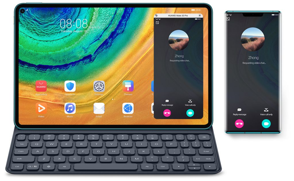 Huawei Matepad Pro Dual Desk Call