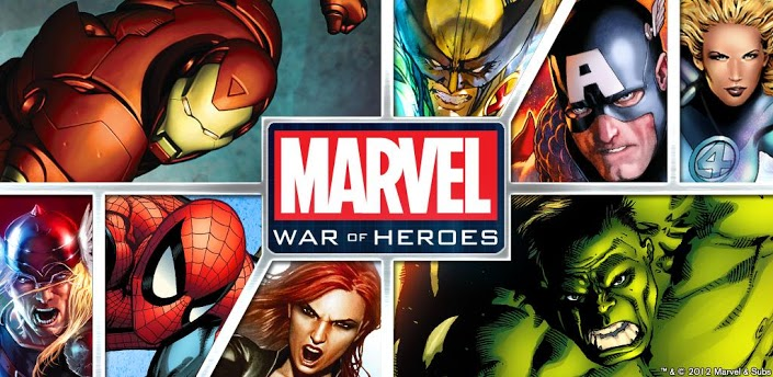 jeu android marvel war of heroes