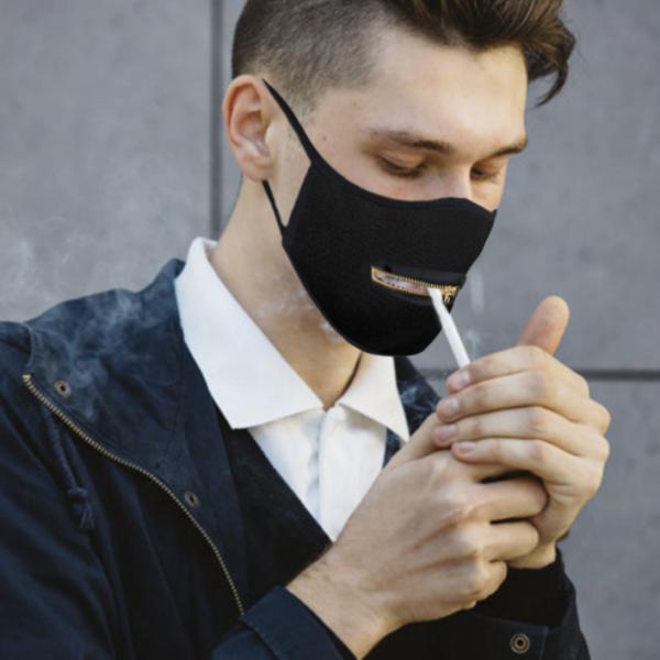 Masque Fermeture Eclaire