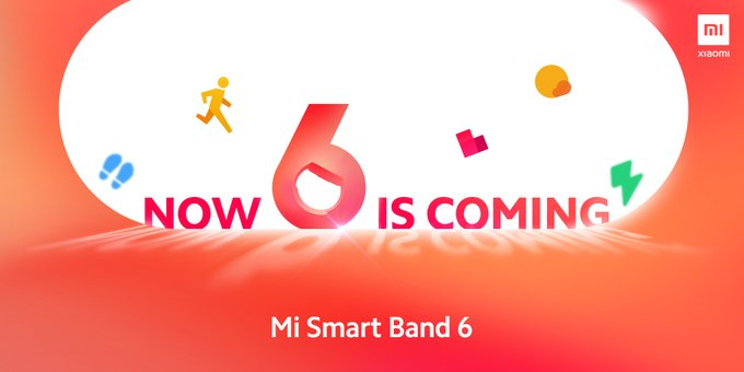 mi band 6 is coming