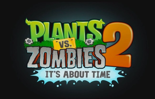 affiche de plants vs zombies 2 it's about time