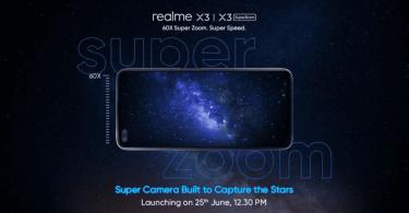 Realme X3 June