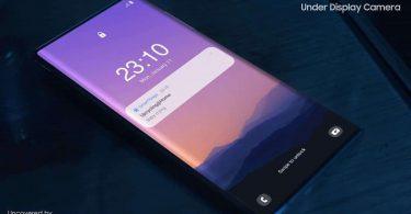 Samsung Under Display Camera Techno